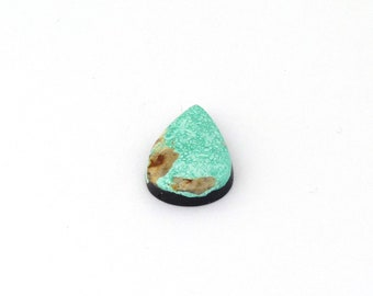 Natural Turquoise Designer Cabochon Gemstone Free Shipping Free Returns 13.2x20.6x4.5 mm