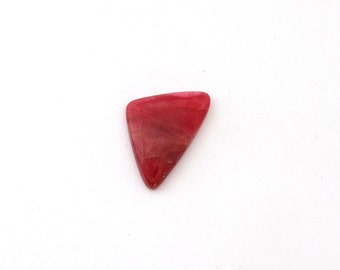 Natural Cherry Red Rhodonite Freeform Designer Cabochon Gemstone 15.0x23.1x4.0 mm Free Shipping Free Returns