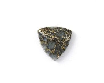Metallic Mohawkite in Quartz Designer Cabochon Gemstone 20.1x20.5x6.5 mm Free Shipping Free Returns