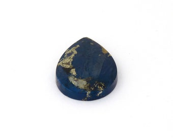 Metallic Blue Covellite Designer Cab Gemstone 21.7x30.4x5.0 mm Free Shipping Free Returns