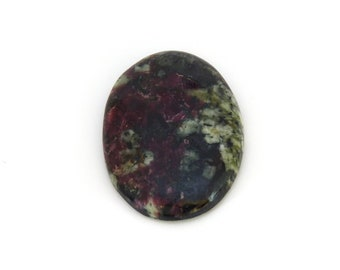 Red Eudialyte Cabochon Gemstone 25.7x36.0x6.3 mm Free Shipping Free Returns