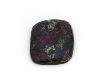 Red Eudialyte Cabochon Gemstone 27.4x32.1x5.5 mm Free Shipping Free Returns