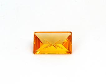 Brazil Citrine Designer Gemstone 14.0x23.2x7.2 mm Free shipping