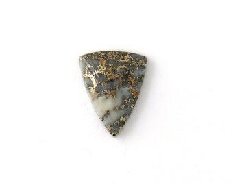 Metallic Mohawkite in Quartz Designer Cabochon Gemstone 19.5x23.7x6.2 mm Free Shipping Free Returns