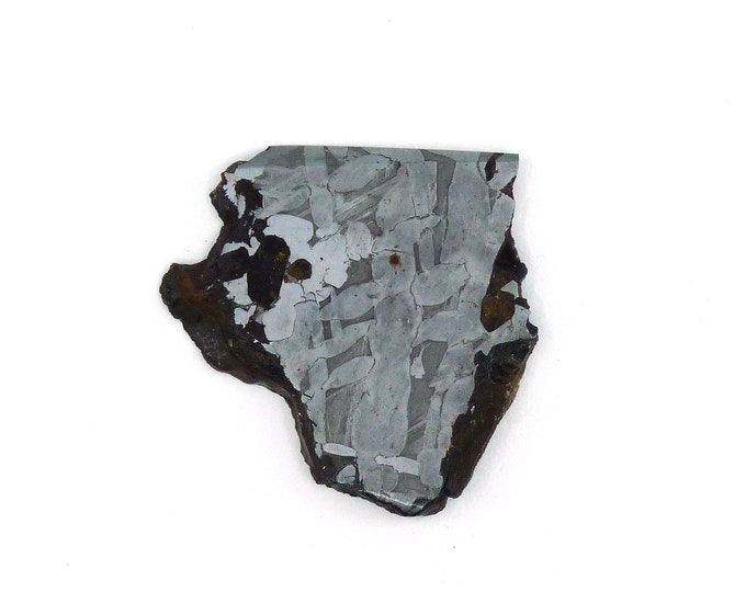 Featured listing image: Seymchan Meteorite Slice 38.3x39.4x4.2 mm Free Shipping Free Returns