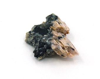 Sorenensite on Aegirine Syrnite & Fluorite Mineral Specimen from Greenland Free Shipping Free Returns