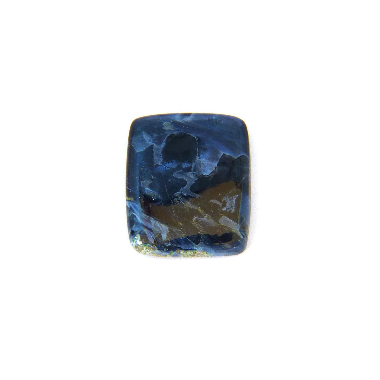 Velouté africain bleu Pietersite Designer Pierre Cab Cab Cab 22.5x26.6x5.3 mm livraison gratuite 04b34f