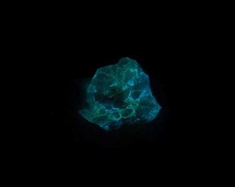 Fluorescent Fresnoite Mineral Specimen from California Free Shipping Free Returns