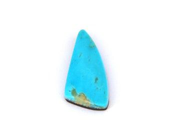Blue American Sleeping Beauty Turquoise Designer Cabochon Gemstone Free Shipping 9.7x19.2x4.3 mm