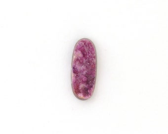 Natural Pink Cobalto Calcite Cabochon 9.0x21.9x4.9 mm Free Shipping Free Returns