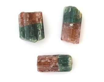 Watermelon Tourmaline Crystals Gemstone 11.6 grams Free Shipping Free Returns