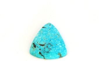 Natural Blue Kingman Turquoise Designer Cabochon with Free Shipping 18.7x20.1x4.1 mm