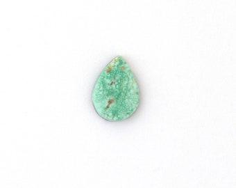 Natural Turquoise Designer Cabochon Gemstone Free Shipping Free Returns 11.5x16.0x3.4 mm