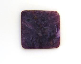 Natural Purple Charoite Designer Cabochons 26.4x27.8x3.1 mm Free Shipping Free Returns