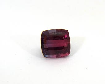 Red Rubellite Purple Pink Tourmaline Faceted Gemstone with Free Shipping