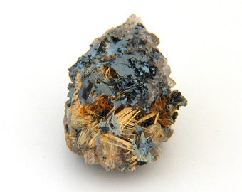 Hematite with Rutile Mineral Specimen from Brazil Free Shipping Free Returns