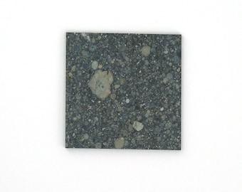Aba Panu Meteorite Slice 30x30x2 mm Free Shipping Free Returns