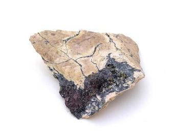Sphalerite & Hematite Mineral Specimen Free Shipping Free Returns