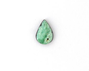 Natural Turquoise Designer Cabochon Gemstone Free Shipping Free Returns 8.4x15.9x3.4 mm