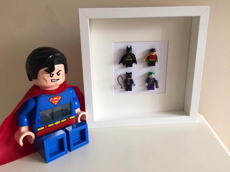Le Robin Catwoman Jour Cadre PingouinSuper HérosVillians Joker Lego Dc Pères MariPapaOncleFrèreFils Comics Figurine Batman OkZwuiTXP