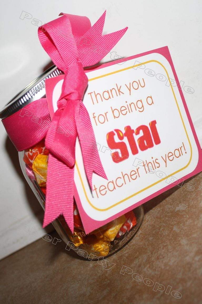 Teacher Appreciation Thank you for being a Star | Etsy