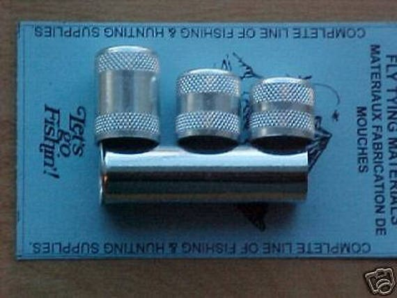 Set of 3 Aluminium hair stacker Tools Fly Tying Materials