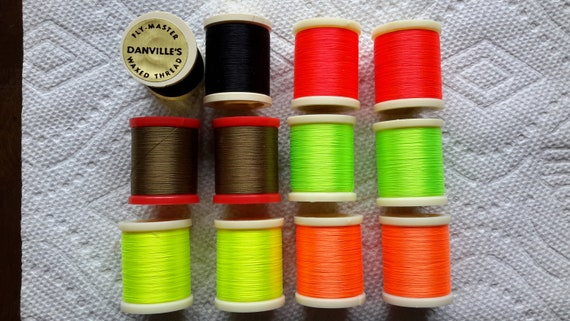 "50 yd /"" Danville Nylon Thread /""..4//0 Fly Tying .."