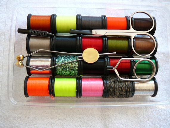 Craft Gift Kit #8..Fly Tying Flies Sport Store Shop Uni-Products... Flies,