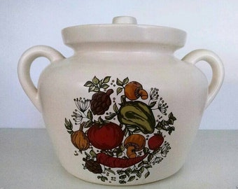 McCoy Spice Delight Spice of Life Bean Pot Cookie Jar