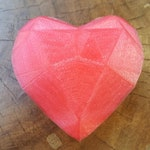 Spinel's Heart Gem - Steven Universe Gems 3D Printed Cosplay Fan Art
