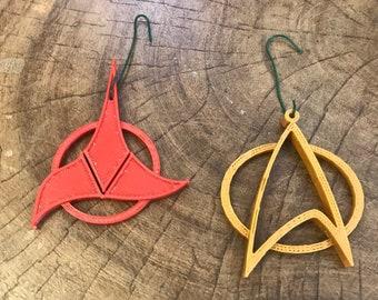 Star Trek Christmas Ornament Set