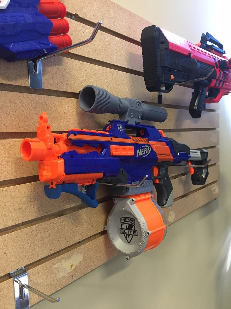 Modified Nerf Rapidstrike Motorized Foam Blaster image 0