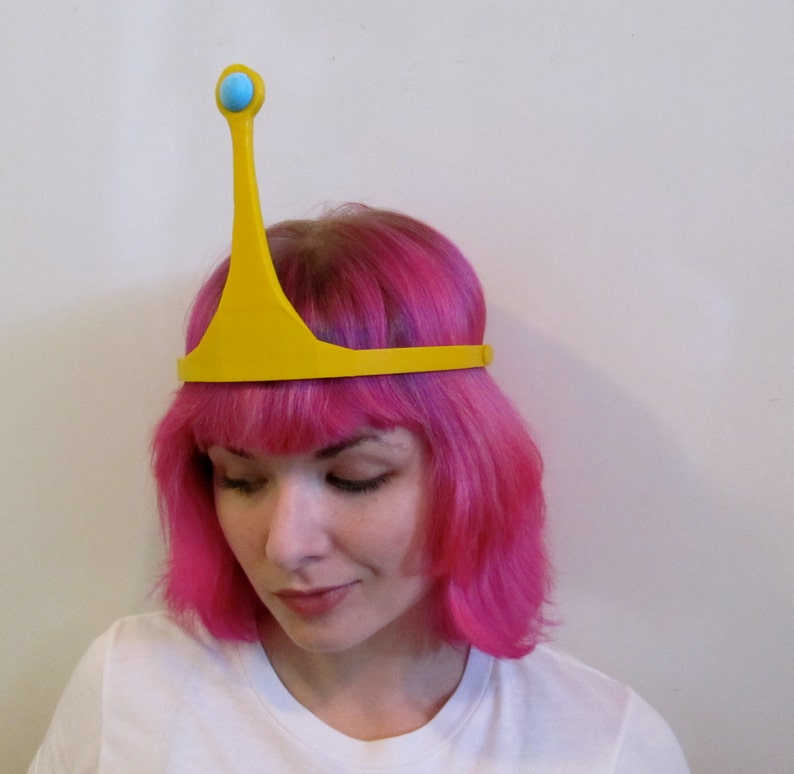 Princess Bubblegum Adventure Time Inspired Costume Crown Fan image 0