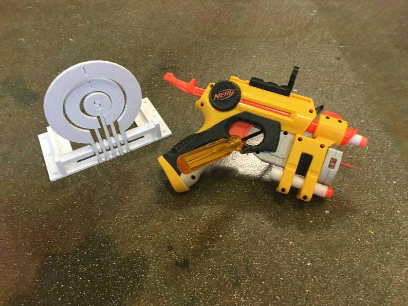 Nerf Nite Finder EX-3 With Glow in the Dark Red image 0