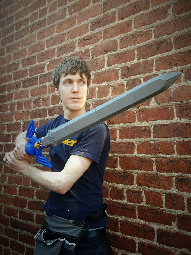 Link's Master Sword FULL SIZE 3D Printed Cosplay Fan Art image 0