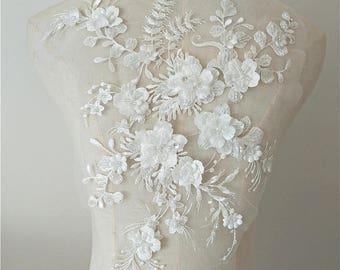off white lace applique 535e802d7fb0