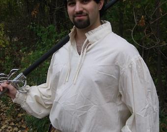 Custom Linen Renaissance Shirt