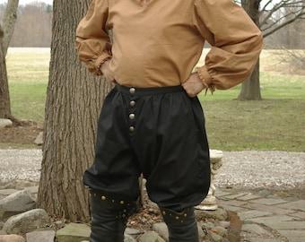 Men's Custom Cotton Twill Renaissance Venetian Trousers
