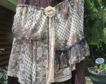 Bown Boho Skirt