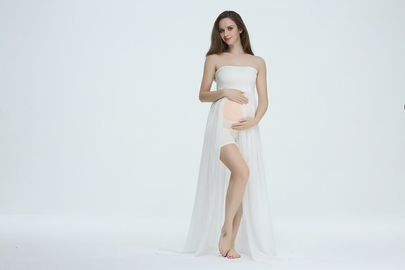 e53dfe336adb8 Buy 2 Get 1 free Maternity Gown for Photoshoot/Stretch Tube   Etsy