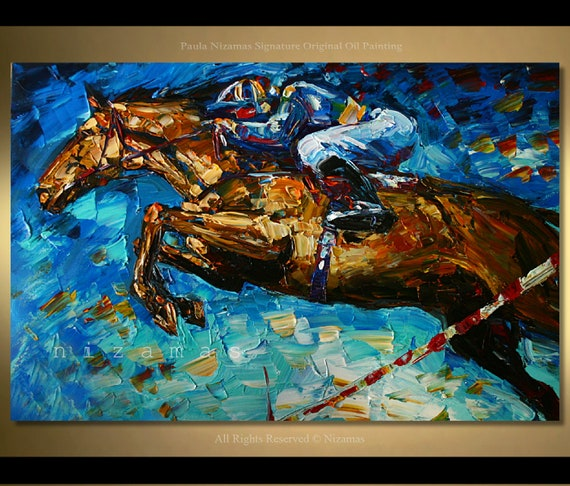 Abstract Art Horse Paintings