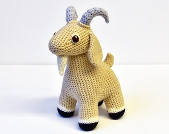 Goat Crochet Pattern, Goat Amigurumi Pattern, Farm Animal Crochet Pattern, Farm Animal Crochet Pattern, Crochet Goat Pattern, Easy Amigurumi
