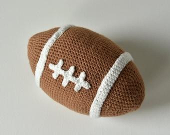 American Football Crochet Pattern, Sports Amigurumi, American Football Amigurumi, Crochet Football, Sports Crochet Pattern, Crochet Ball