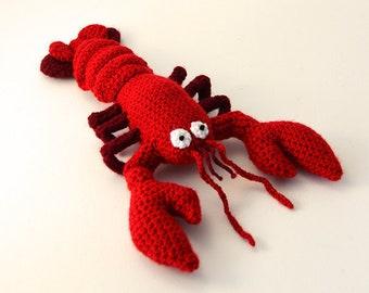 Lobster Crochet Pattern, Lobster Amigurumi Pattern, Crochet Lobster Amigurumi Pattern, Crochet Lobster Pattern, Animal Amigurumi