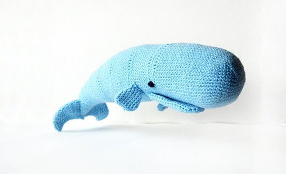 Barney Whale and Nina Narwhal Amigurumi Pattern | 347x570