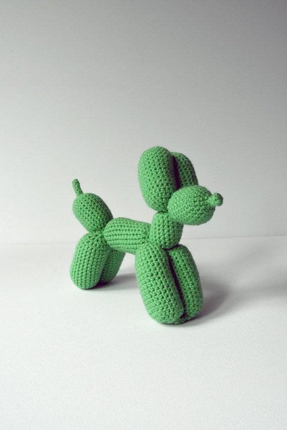Balloon Dog Crochet Pattern Balloon Dog Amigurumi Crochet | Etsy