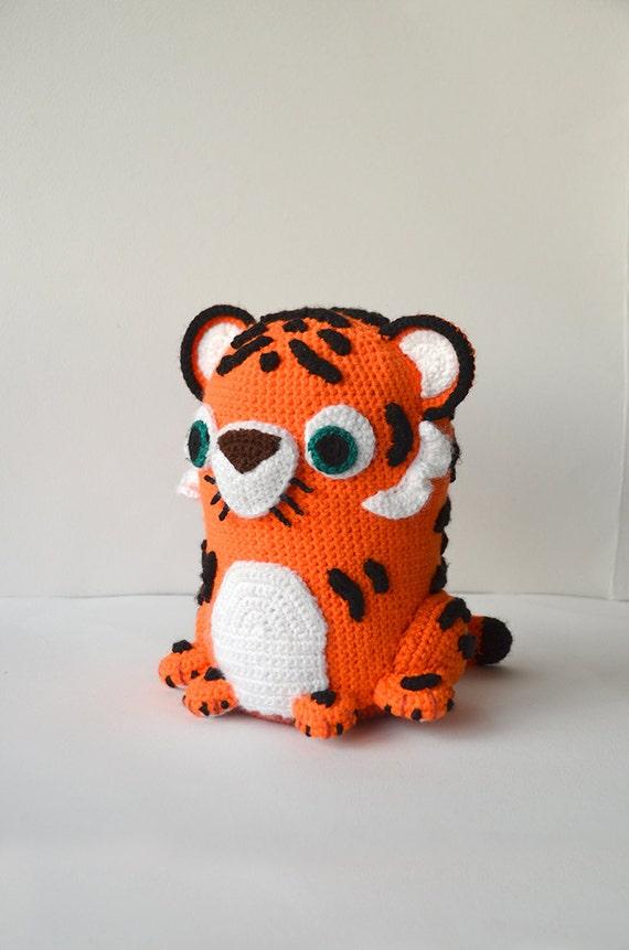 Tiger Crochet Pattern Amigurumi Tiger Pattern Tiger Etsy