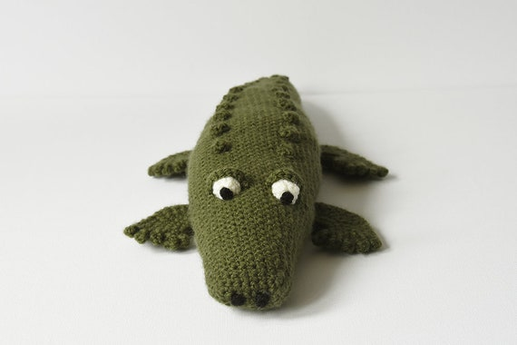 Crocodile Crochet Pattern Crocodile Amigurumi Pattern Etsy