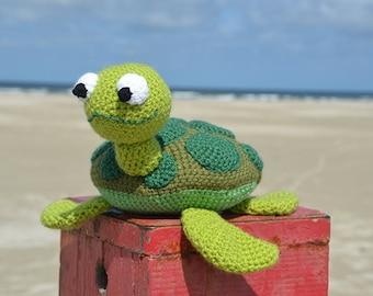 Sea Turtle Crochet Pattern, Sea Turtle Amigurumi Pattern, Amigurumi Sea Turtle Crochet Pattern, Tortoise Crochet Pattern, Tortoise Amigurumi
