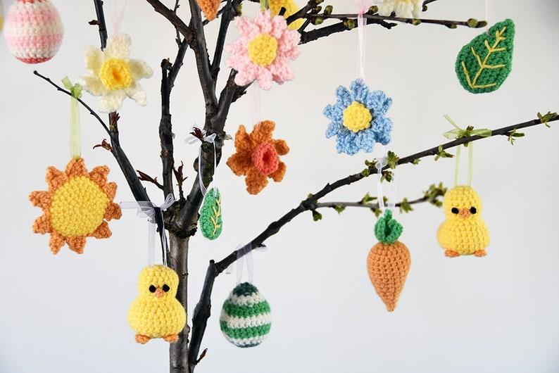 Easter Decorations Crochet Pattern Easter Set Crochet image 0